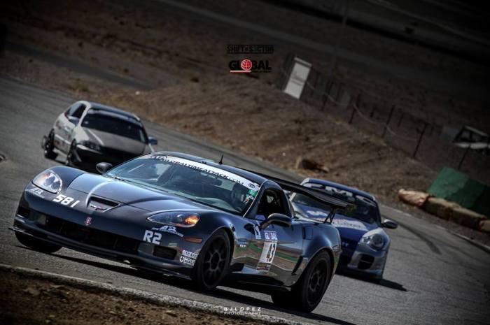 stephanie car on track